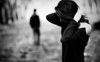 sad, lonely, alone