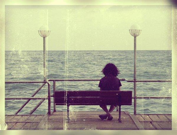 alone, sad