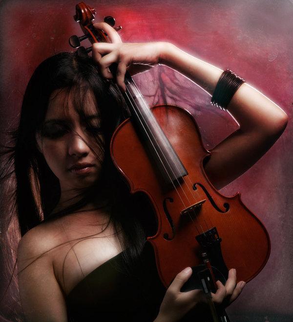 violin,girl
