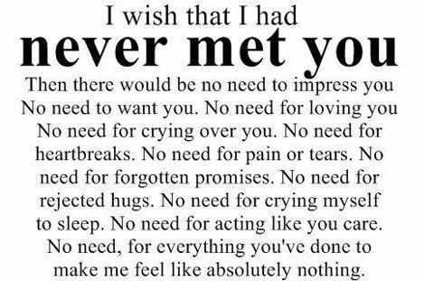 never again, sad, alone, hurt, heartbroken