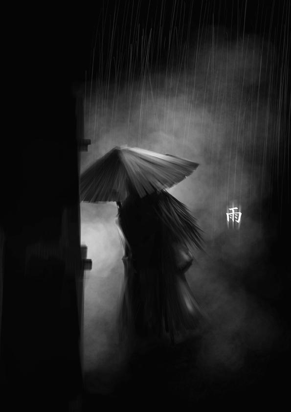 rain,art