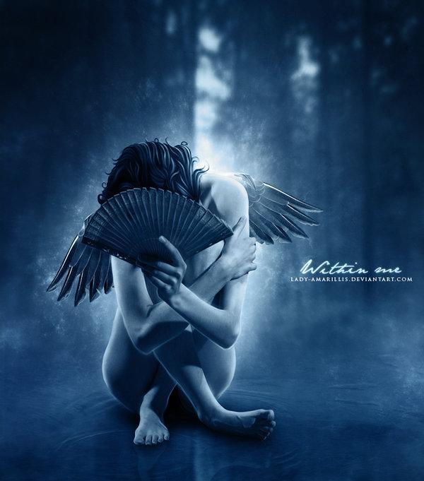 broken,fallen angel,sad,hurt,alone