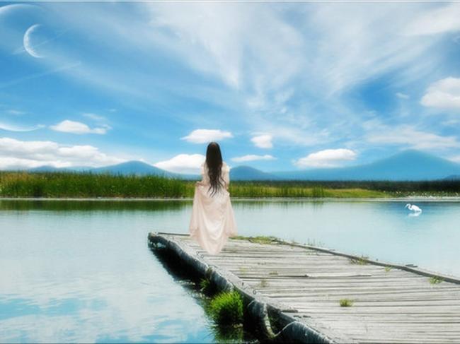 alone, sad, nature, sorrow, beauty