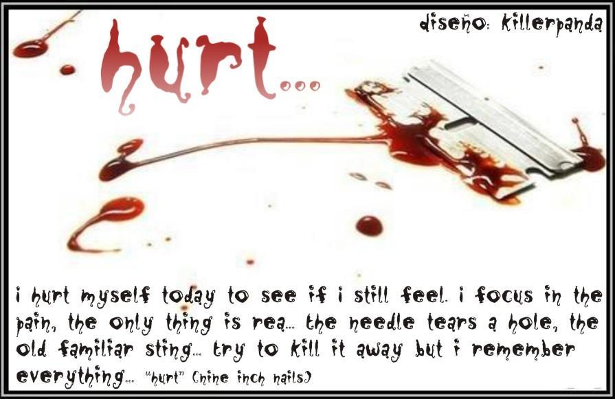 hurt, sad, alone
