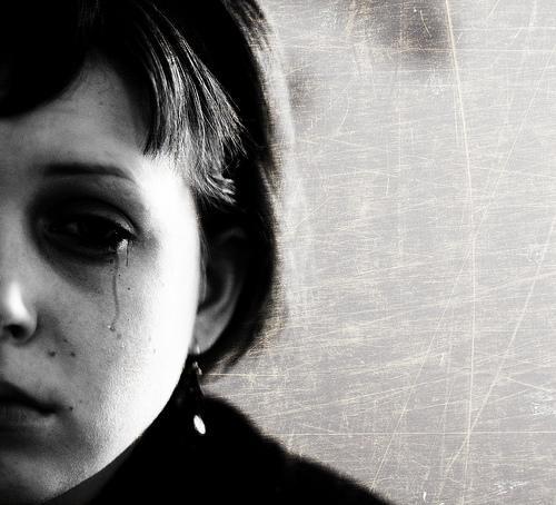 girl, tears, cry