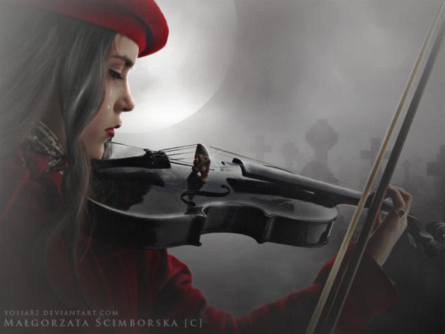 broken heart,shattered dreams,disappointed,violin,girl