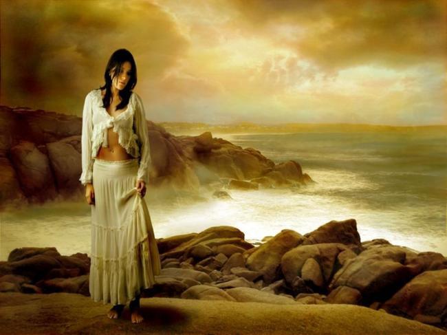loneliness, alone, depressed, sad, waiting, girl, sea