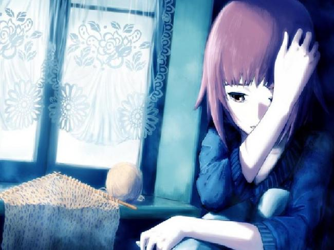 Anime best sad pictures sad images lover of sadness - Alone anime girl ...