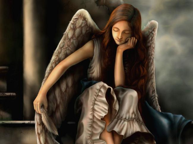 sadness,unhappy,fantasy,girl,angel