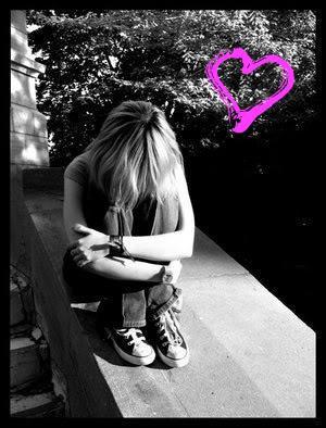 love, sad, alone, girl