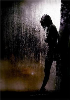 sad,lonely,cry,crying,rain,rainy