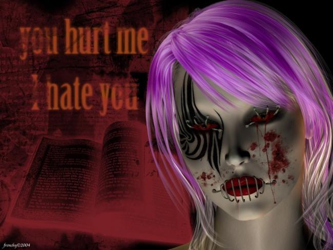 harm,violence,scarred