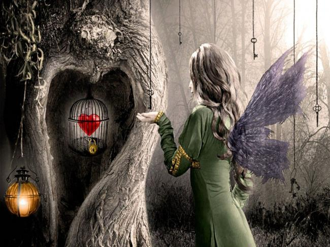 unloved, unlucky, hidden, heart, distrust