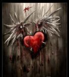 sad, broken heart, hurt, shattered, destroyed