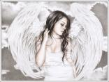 cry, tears, angel, girl, gothic